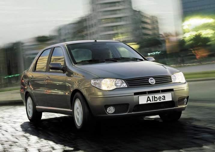 Элегантный дизайн FIAT Albea