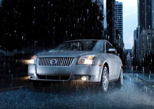 Ездить под дождем можно, но  осторожно